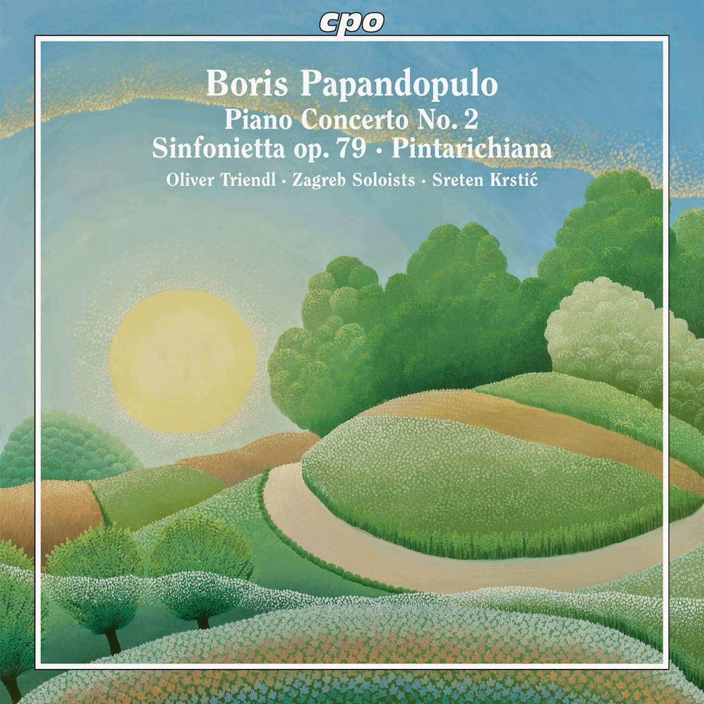 Zagrebacki solisti recent-discography Boris Papandopulo