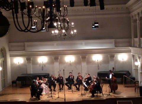 Zagrebacki solisti i Dana Kahriman 08.02.16. Treci koncert 63. sezone